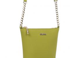 1822 green Кросс-боди сумка кожаная